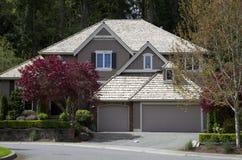 American dream home stock photo