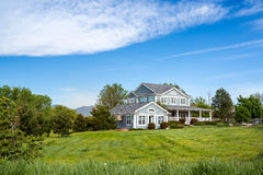 American dream house Stock Photography
