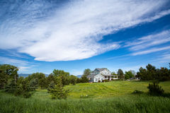 American dream house Royalty Free Stock Photography