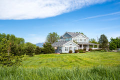 American dream house Royalty Free Stock Photo