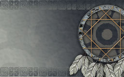 American dreamcatcher gray Stock Photography