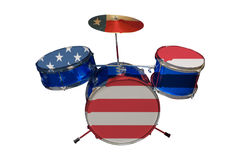American Drum Royalty Free Stock Images