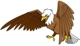 American Eagle. Illustration of a flying eagle Royalty Free Stock Photos