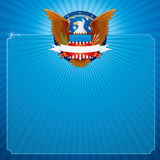 American Eagle. Abstract Background with American Eagle Stock Photos