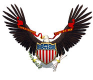 American Eagle freedom Symbol Royalty Free Stock Photos