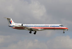 American Eagle regional jet Stock Image