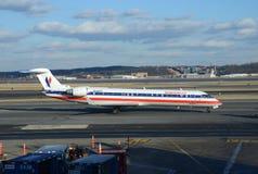 American Eagle regional jet stock images
