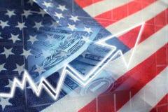 American Economy Growing High Quality Stock Photo
