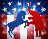 American Election Concept Royalty Free Stock Photos
