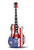 American electric guitar Stock Photos
