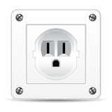 American electric plug Royalty Free Stock Photos