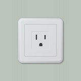 American electric socket 05 Stock Photos
