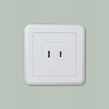 American electric socket 04 Royalty Free Stock Photo