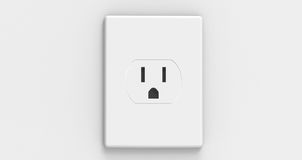 American Electric Socket Stock Photography