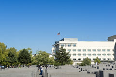 American Embassy in Berlin Stock Images