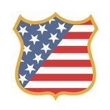 American emblem Royalty Free Stock Image
