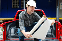 American engineer Royalty Free Stock Photo