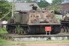 American engineering tank during the Vietnam war in Hue. Vietnam Stock Images