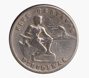 American Era Silver Coin Royalty Free Stock Photography