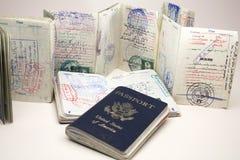 American Expat Stock Photo