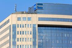 American Express företagsbyggnad Royaltyfri Bild
