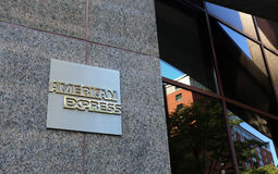 American Express Headquarters Royalty Free Stock Photo