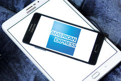 American express logo Stock Images