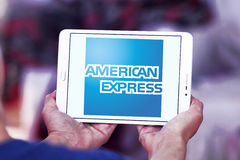 American express logo Stock Photos