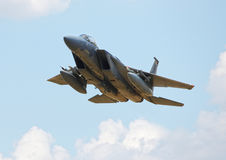 American F15 fighter jet Royalty Free Stock Image