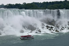 American Fall Niagara Falls Ontario Canada Royalty Free Stock Photo