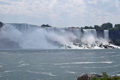 American Fall Niagara Falls Ontario Canada Stock Images