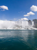 American Falls. American Niagara Falls at USA border Stock Photo