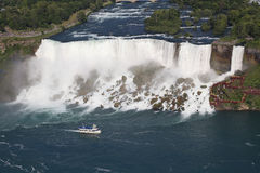 American Falls, aerial view, Niagara Stock Photography