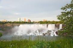 American Falls , Bridal Veil Falls and Rainbow Bridge Stock Photography