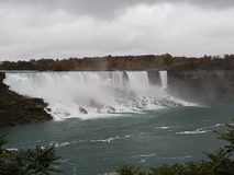 The American Falls Niagara stock images