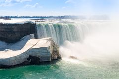 American Falls in Niagara Falls Stock Photos
