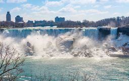 American Falls in Niagara Falls Stock Photo
