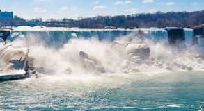 American Falls in Niagara Falls Royalty Free Stock Photography