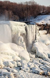 American Falls in the winter, Niagara Falls New York. Stock Photo