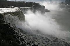 American Falls - Niagara in winter time Royalty Free Stock Image