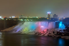 American Falls night Stock Photography