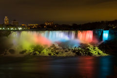 American Falls at Night Royalty Free Stock Photography