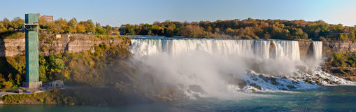 American Falls panorama Stock Photography