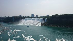 The American Falls. Viewed from Canada Royalty Free Stock Images