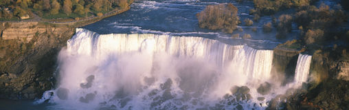 American Falls viewed from Canada, Niagara Falls, New York Stock Photo