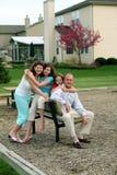 American Family Stock Photo