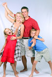American Family Royalty Free Stock Images