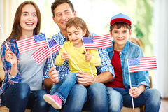 American family Royalty Free Stock Photography