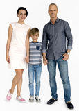American Family Holding Hands Concept royalty free stock photos