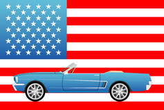 American famous sport car Royalty Free Stock Images